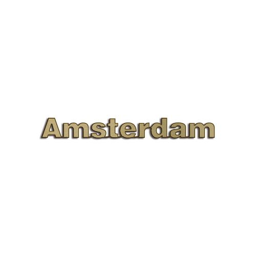 Type Amsterdam | 5mm Brons