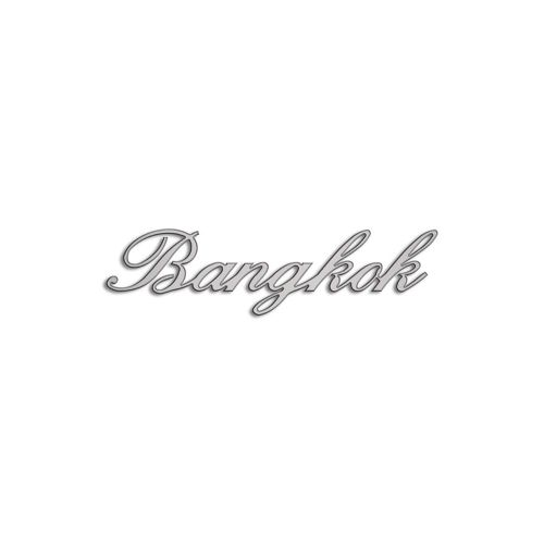 Type Bangkok | 5mm Alu zilver
