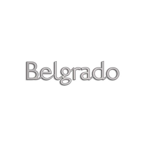 Type Belgrado | 5mm Alu zilver