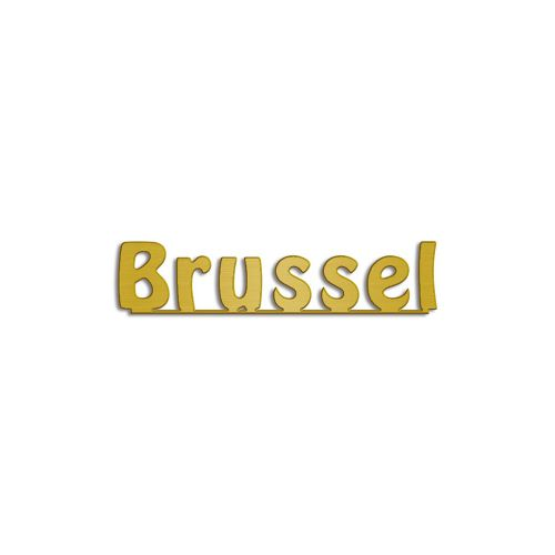 Type Brussel | Productie Westdecor |Aluminium goud