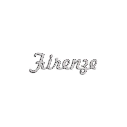 Type Firenze | 5mm Alu zilver