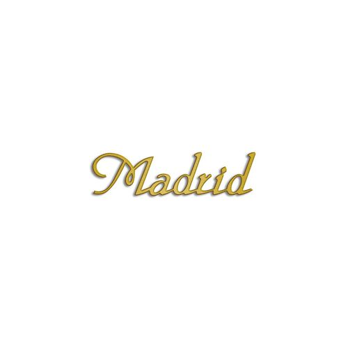 Type Madrid | Productie Westdecor |Aluminium goud