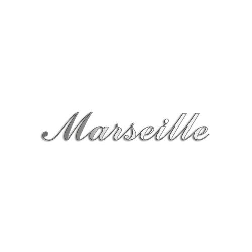 Type Marseille | Productie Westdecor  | Inox