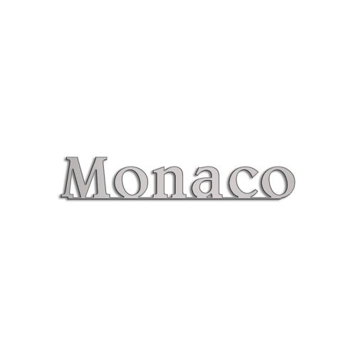 Type Monaco | 5mm Alu zilver